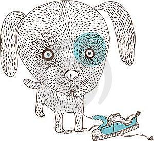 Bad Dog Royalty Free Stock Photography - Image: 18526057