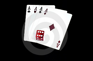 Four Aces Royalty Free Stock Photography - Image: 18526907