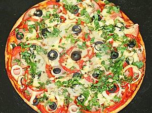Homemade Pizza Royalty Free Stock Photo - Image: 18527245