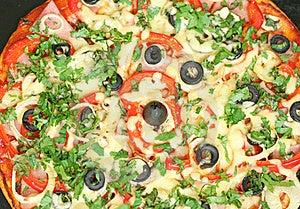 Homemade Pizza Stock Photo - Image: 18527260