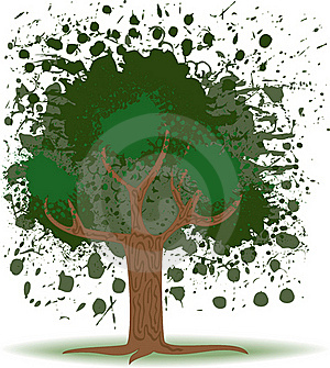 Tree Blob Stock Image - Image: 18528581