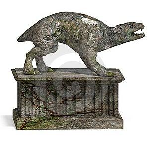 A Stone Creature - The Gargoyle Royalty Free Stock Photos - Image: 18531618