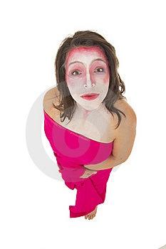 Mime On White Stock Photos - Image: 18532163