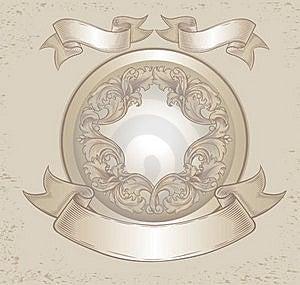 Old Emblem Stock Photography - Image: 18532582