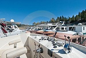 Marina And House Boat Stock Photos - Image: 18532863