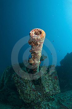 SS Thistlegorm Battle Gun Royalty Free Stock Photos - Image: 18534768