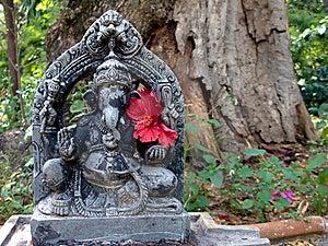 Stone Ganesh Stock Images - Image: 18536334