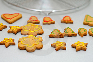 Gingerbread Cookies Royalty Free Stock Photography - Image: 18543957