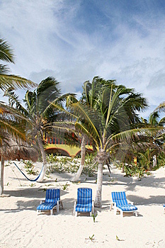 Carmen Beach In Mexico Stock Photos - Image: 18546973
