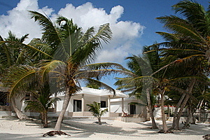 Luxurious Holiday Resort In Tulum Beach - Mexico Stock Photo - Image: 18547710