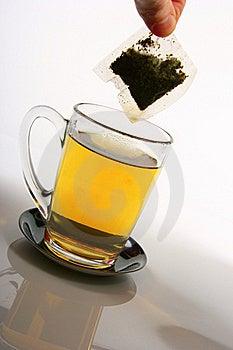 Cup Of Tea And Teabag Stock Photos - Image: 18556583