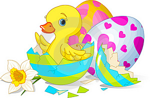 Easter Surprise Royalty Free Stock Images - Image: 18557619