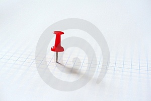 Red Pin Stock Images - Image: 18560554