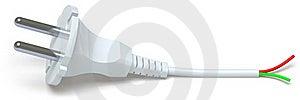 Electrical Plug Stock Photo - Image: 18560560