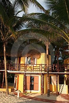 Mahekal Resort In Playa Del Carmen - Mexico Royalty Free Stock Photo - Image: 18565015