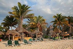 Holiday Resort In Playa Del Carmen - Mexico Stock Photo - Image: 18565040