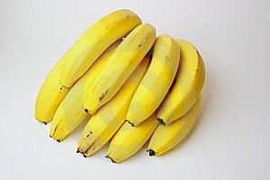Bunch Bananas Royalty Free Stock Image - Image: 18565386