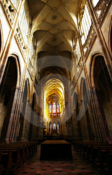 Cathedral Interiors Stock Images - Image: 18567304