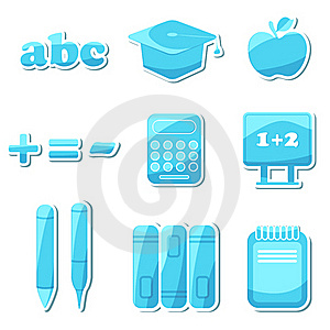 Education Icon Royalty Free Stock Images - Image: 18581159