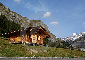 The House In Mountains Stock Photo - Image: 18581690