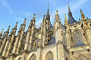 St.Barbara Church In Kutna Hora, Stock Images - Image: 18581894