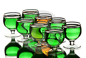 Alcohol. Stock Image - Image: 18582101
