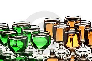 Alcohol. Stock Photo - Image: 18582190