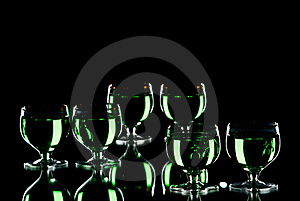 Alcohol. Stock Images - Image: 18582324
