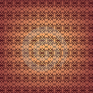 Seamless Ornamental Wallpaper Royalty Free Stock Photo - Image: 18584325
