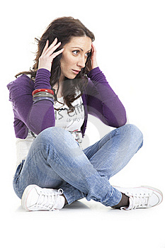 Young And Attractive Girl Stock Images - Image: 18585564