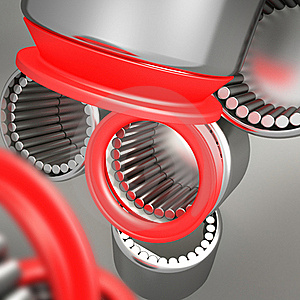 Composition Of Bearings Royalty Free Stock Photography - Image: 18588387