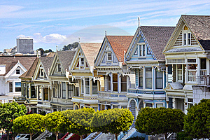 The Painted Ladies Stock Photography - Image: 18589482