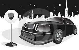 Black Expensive Car Royalty Free Stock Photo - Image: 18589805