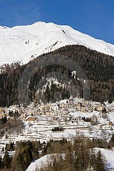 Alpine Village Royalty Free Stock Image - Image: 18590686