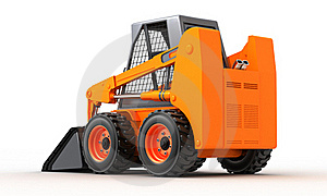 Skid Steer Loader Royalty Free Stock Photos - Image: 18591778