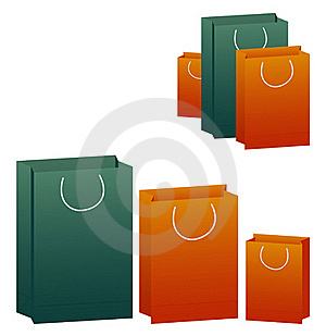 Vector Shopping Bags Stock Images - Image: 18596474