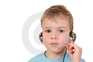 Operator Boy Stock Image - Image: 1863051