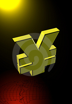 Yen Symbol Royalty Free Stock Photo - Image: 1866995