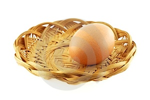 One Egg Royalty Free Stock Images - Image: 1868039