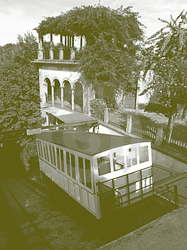 Stylish Water Funicular Royalty Free Stock Image - Image: 1868506