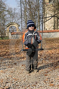 Child And Swing Stock Images - Image: 18601504