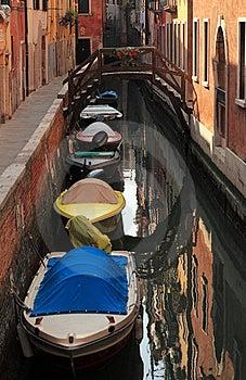 Venetian Canal Stock Image - Image: 18602111