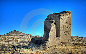 Ruins At Fort Churchill Stock Photography - Image: 18602312