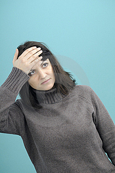 Adult Suffering From Headache Stock Photos - Image: 18607583