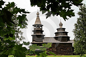 Russia: Old Wooden Architechture Stock Photography - Image: 18611242