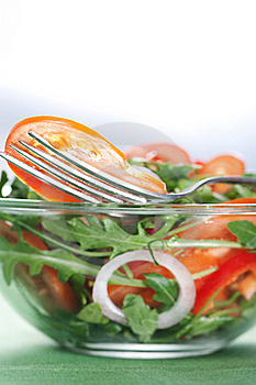 Healthy Green Salad Stock Photography - Image: 18614992