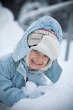 Winter Portrait Stock Image - Image: 18616371