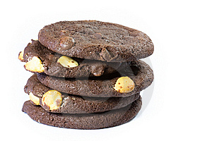 Cookie Stack Royalty Free Stock Photos - Image: 18618508