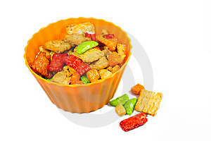 Rice Snacks Stock Photography - Image: 18618512