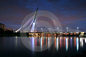 Seri Wawasan Bridge Royalty Free Stock Photography - Image: 18620917